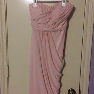 Light Pink David's Bridal Dress